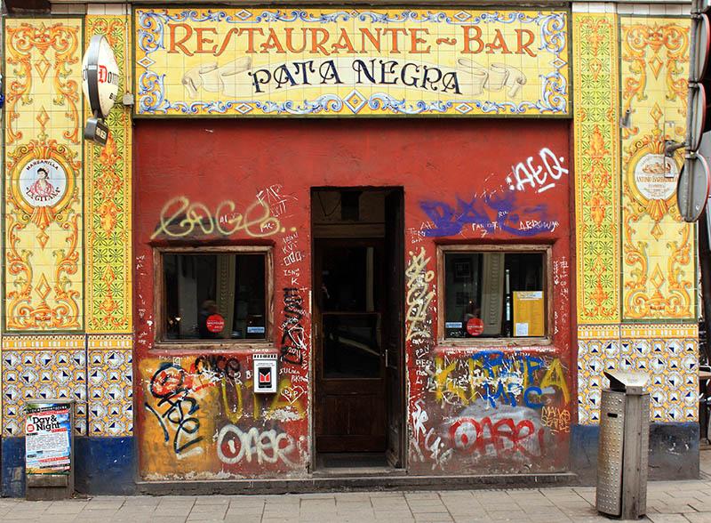 "Tapas restaurant ""Pata Negra"". Amsterdam"