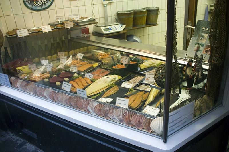 Venta de pescados marinados y ahumados en amsterdam for Hagen s fish market