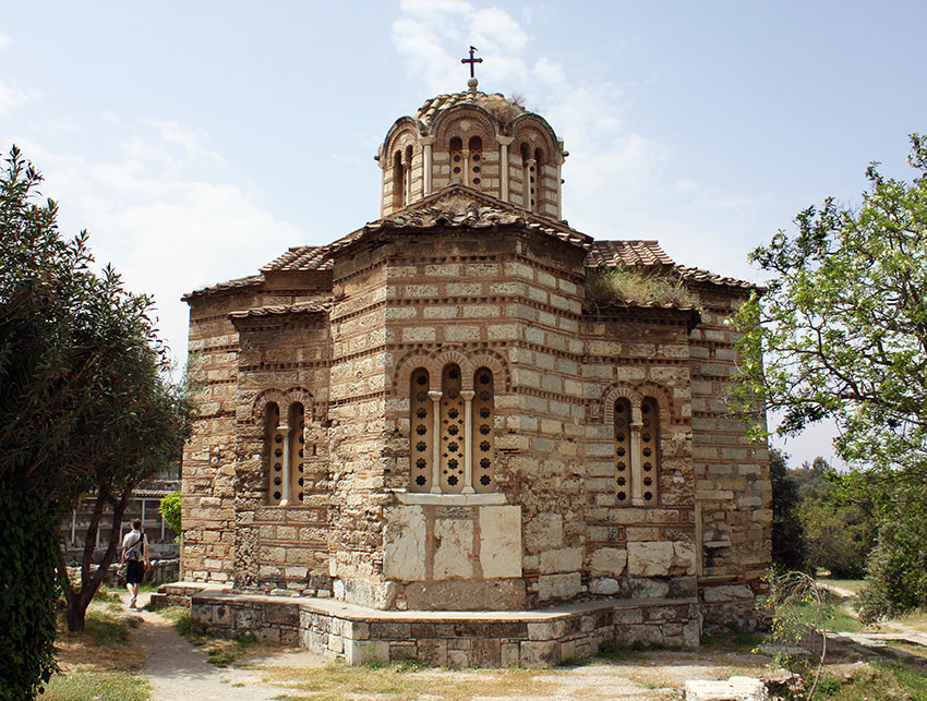 Church of the Holy Apostles. Athens Agora