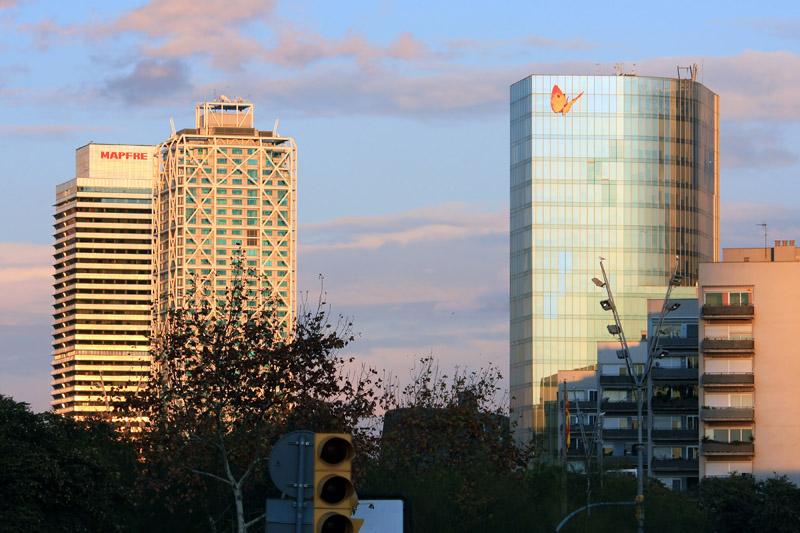 gas natural edificios: