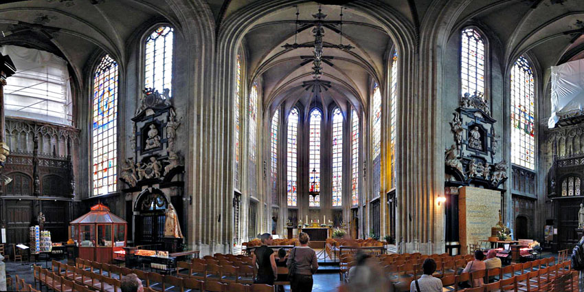 Iglesia De Notre Dame Du Sablon