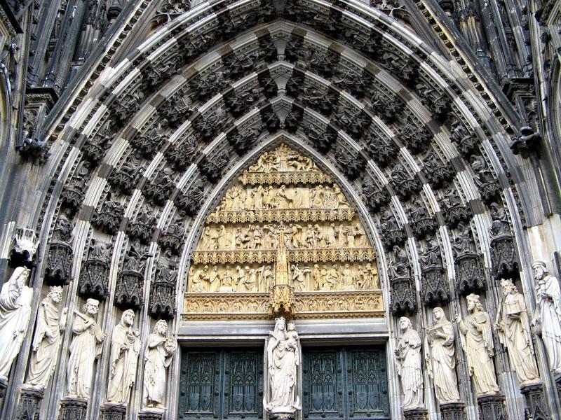 Catedral de Colonia. Portada principal.
