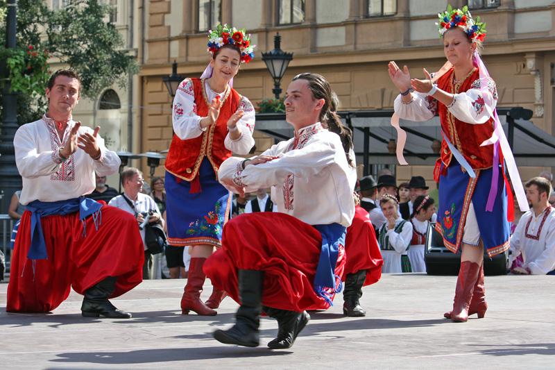 Bailes regionales rusos. Encuentro juvenil internacional Budapest 2009