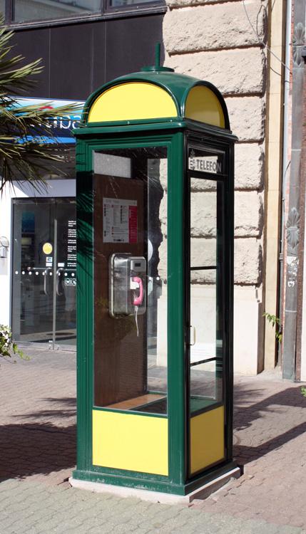 telefónica pública en budapest - Cabina Telefonica