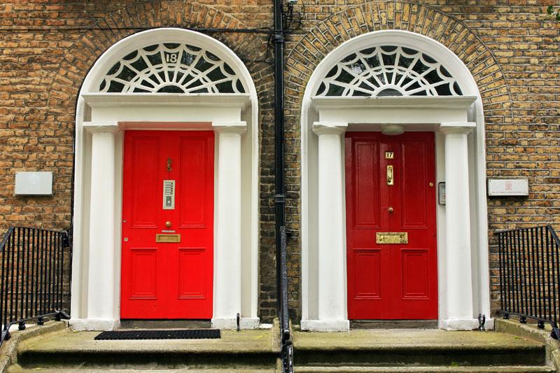 Puertas rojas taringa - Puertas con cristales de colores ...