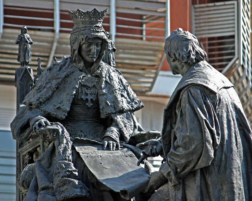 Monumento a Isabel la Católica y Cristóbal Colón, Granada