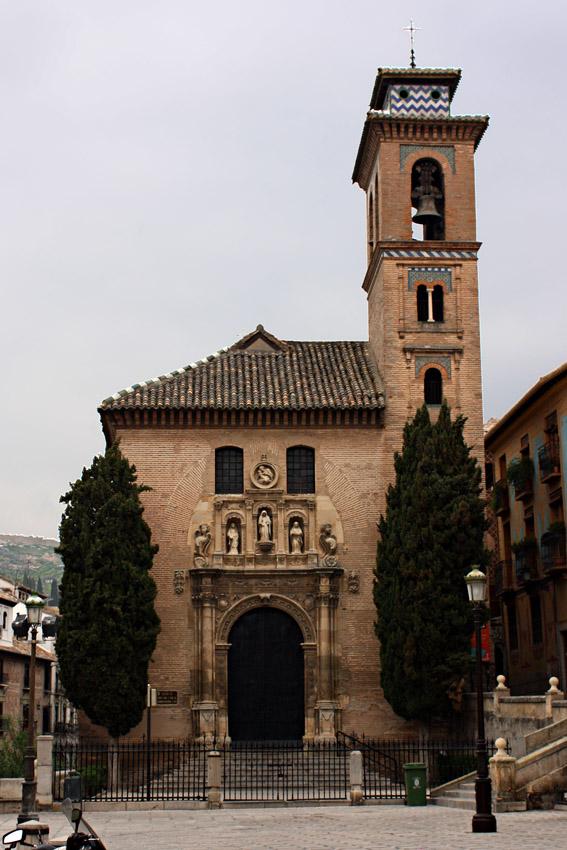 Iglesia de santa ana granada junto a la plaza nueva - Santa ana granada ...