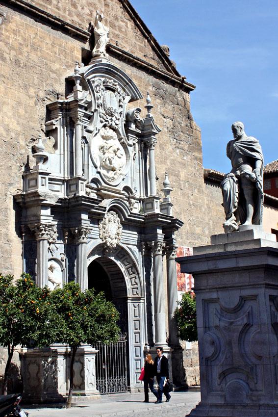 Iglesia de los santos Justo y Pastor. Granada.