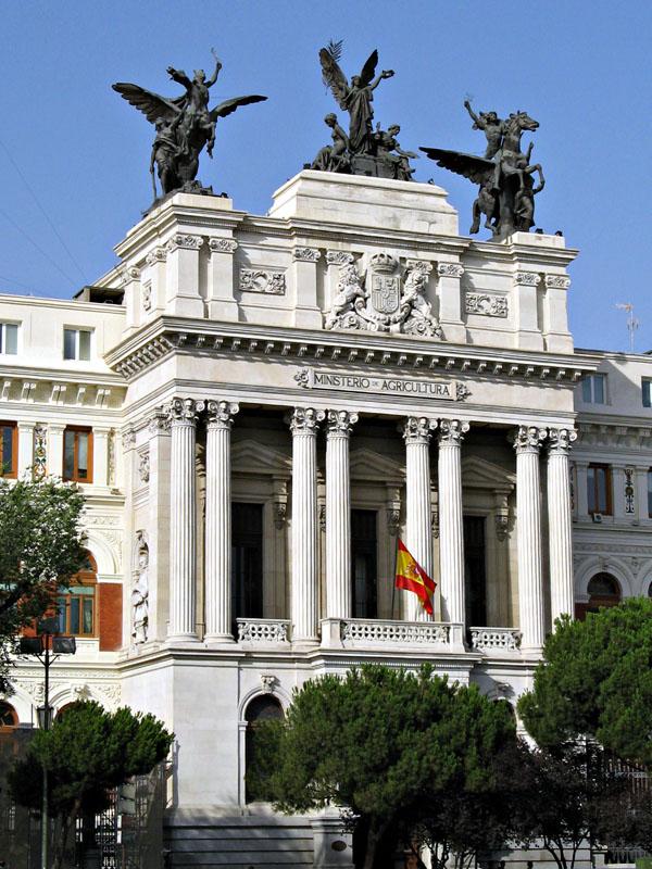Ministerio de agricultura madrid for Ministerio de seguridad espana