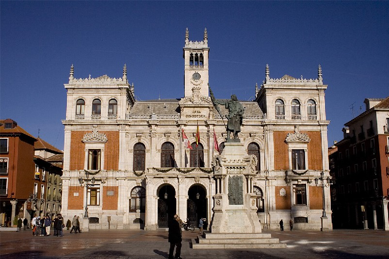 Ayuntamiento de valladolid casa consistorial en la plaza for Ayuntamiento de villel de mesa