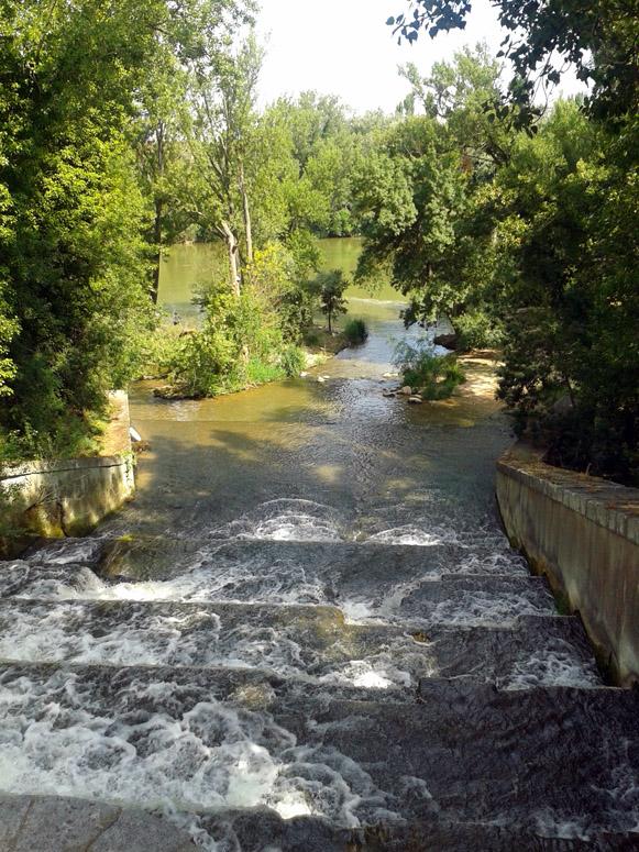 Desembocadura del r o esgueva en el r o pisuerga en el for Gimnasio rio esgueva