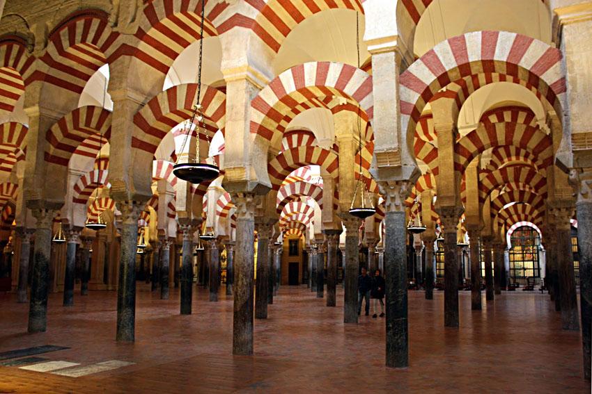 bosque columnas mezquita cordoba - Córdoba, uno de los destinos más visitados de España